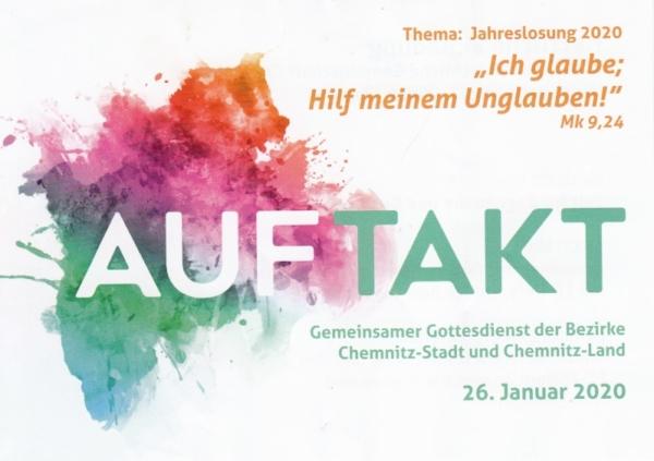 AUFTAKT Gottesdienst @ Gemeinschaftshaus Chemnitz | Chemnitz | Sachsen | Deutschland