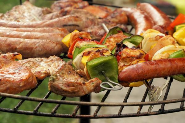 Grillfest für Freunde und Nachbarn